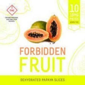 forbidden fruit papaya slices 100mg edibles colorado