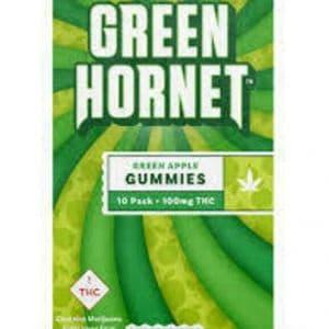 green hornet green apple hybrid 10 pak 100mg edibles colorado
