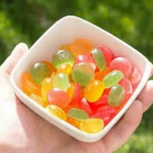 wana drops tangerine sativa 100 mg thc edible colorado